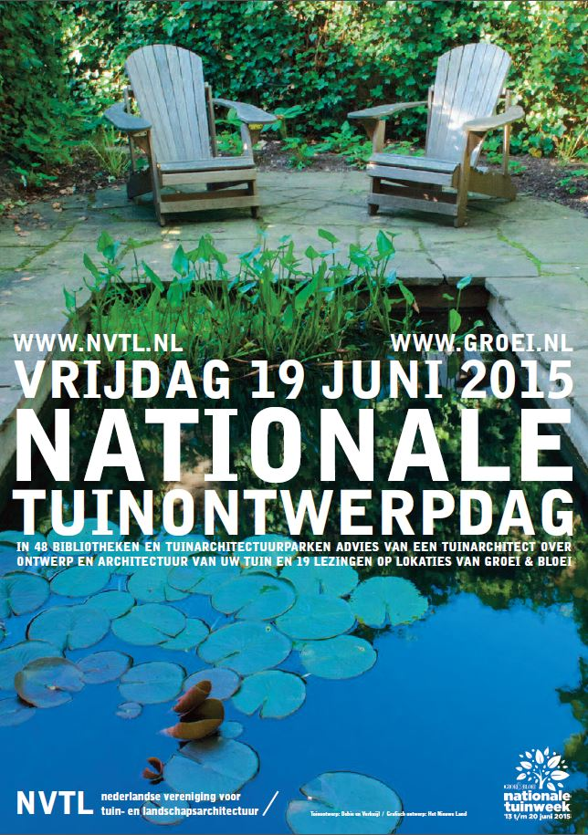 De Nationale Tuinontwerpdag 2015