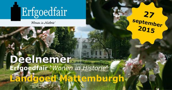 Erfgoedfair 2015 Op Landgoed Mattemburgh